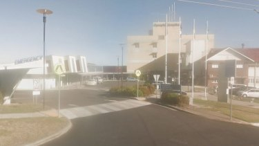 A man was treated at Gympie Hospital for a gunshot wound to the head after being driven there in the tray of a ute.