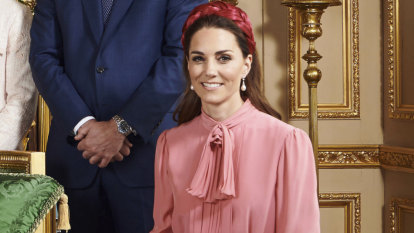 Royal christening: Why everyone is talking about Kate's dress