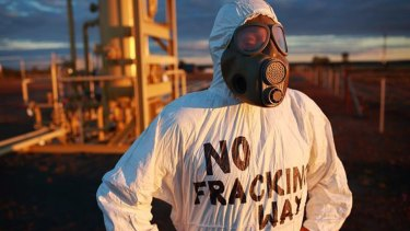 Moves to lift bans on fracking in Australia has been met with fierce community resistance.
