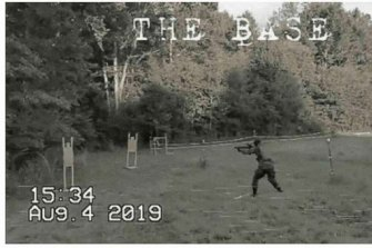 A photo included in a recent FBI court filing shows unidentified members of the neo-Nazi group The Base.
