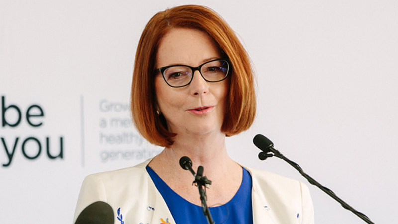 Beyond Blue chair and former prime minister Julia Gillard.