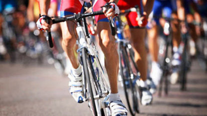 Gender gap: Cycling race forced to halt as woman closed in on the men