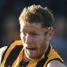 'His best role is playing as a ruckman': Ex-coach questions Hawk's move to defence