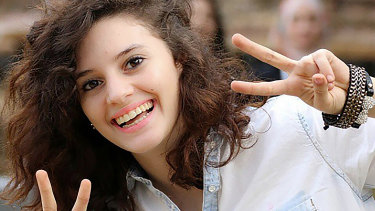 International student Aiia Maasarwe.