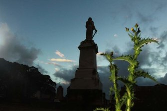 Woronora Cemetery in Sutherland.