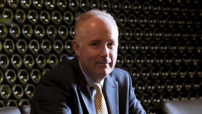 ASX staggers out of red as Treasury Wine weighs on market