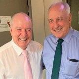 Alan Jones with former PM Paul Keating.