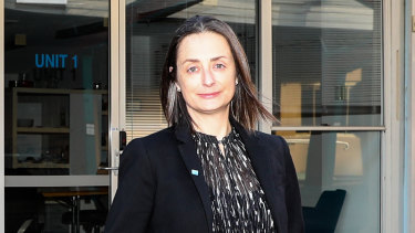 Ausfilm CEO Kate Marks at Fox Studios in Sydney.