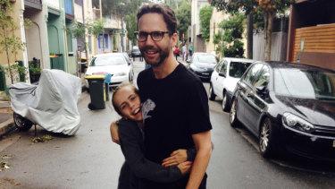 Robbie Buck and his daughter Sophia.