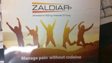 A Zaldiar advertisement allegedly sent to GPs.