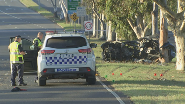 Victoria Police's Professional Standards Command are overseeing the investigation into the crash.