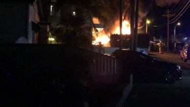 A luxury boat worth $150,000 was set alight and a woman was assaulted in Sydney's south this year in an alleged extortion attempt.