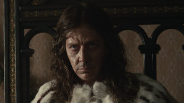 Ben Mendelsohn as Henry IV in The King.