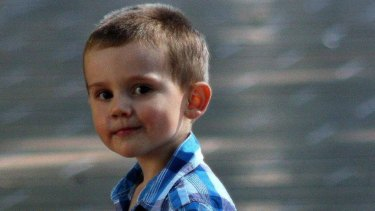 William Tyrrell before he disappeared.