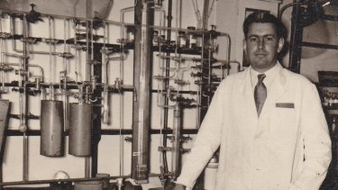 Scientist Lloyd Smythe during his time at Cambridge.