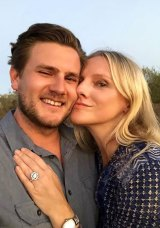Brandon and Laura got engaged at a kangaroo sanctuary in Alice Springs.