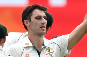 Pat Cummins was superb for Australia in a losing cause against India.