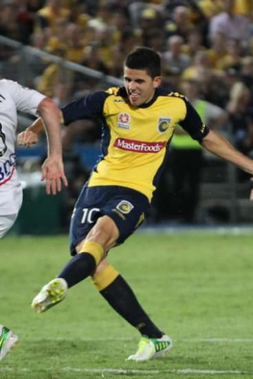 Rogic spent just six months under Graham Arnold at the Mariners before signing with Celtic.