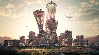 Utopia in the desert: plans for new $US400b US city revealed