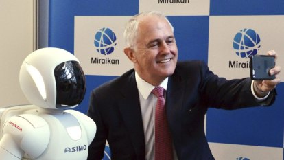 'Not his comfort zone': Malcolm Turnbull on innovation and Scott Morrison