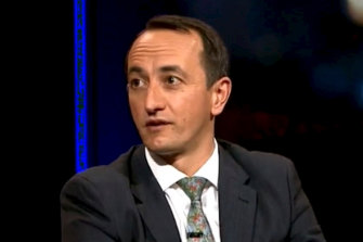 Dave Sharma said China's diplomats were only testing Australia's strength.