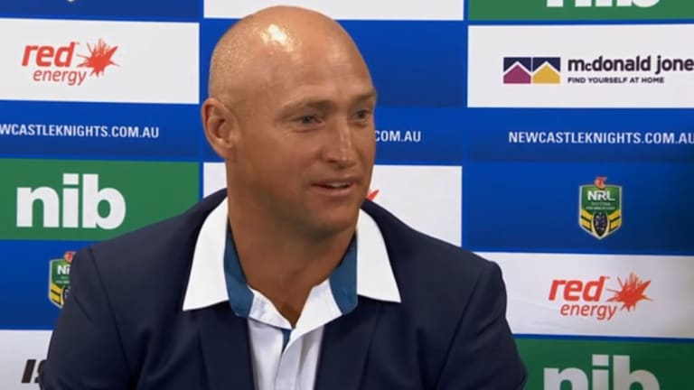 Hot water: Nathan Brown's post-match comments drew the ire of some.