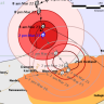 The latest map of the cyclone, as of 2pm.