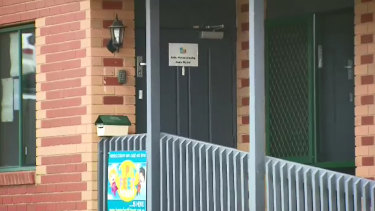 The childcare centre was closed on Tuesday after the tragic accident.