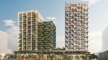 A $320 million triple tower project in Nedlands has been approved.