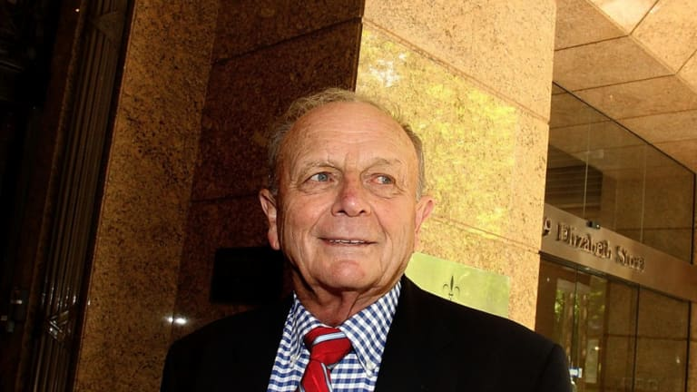 """Harvey Norman boss Gerry Harvey: """"I don't expect that we're going to see much in the way of growth in Australia this year."""""""