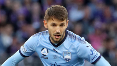 Marston medal winner Milos Ninkovic hailed as Sydney FC's best ever.