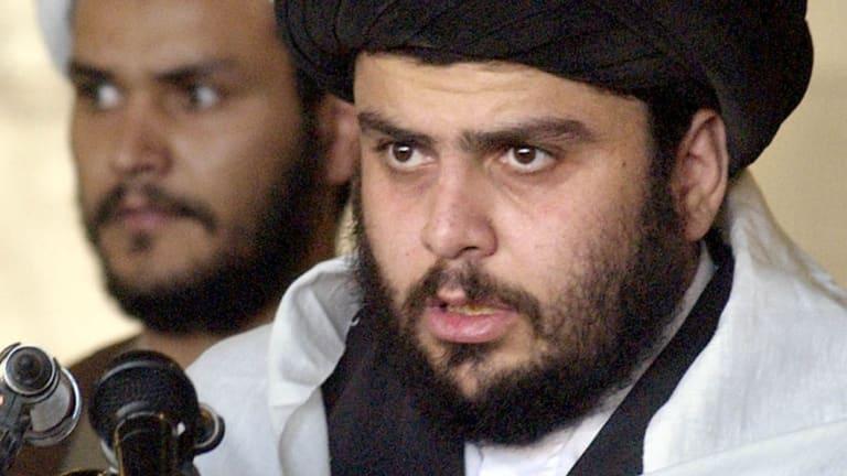 Iraqi cleric Muqtada al-Sadr in 2003.