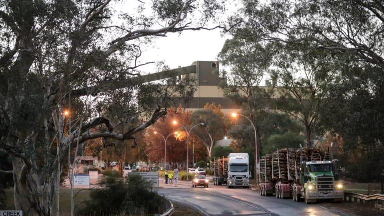 It's understood the Norske Skog mill had been preparing to restart after a three-day annual shutdown.
