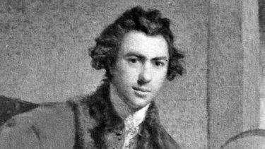 Portrait of Sir Joseph Banks by Sir Joshua Reynolds.