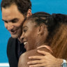 Federer comes up trumps against Williams