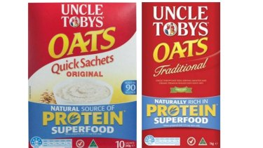 Uncle Tobys' parent company Nestle says it has ongoing supply issues with Woolworths.
