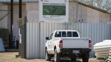The Bomana Immigration Centre on the outskirts ofPort Moresby, Papua New Guinea.