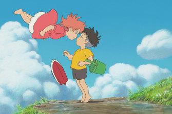 Hayao Miyazaki's modern fairytale, <i>Ponyo</i>.