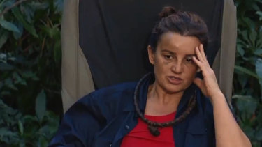 Jacqui Lambie is the third contestant voted off I'm a Celebrity.