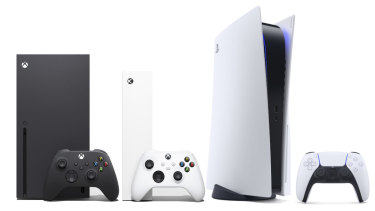 The Xbox Series X, Series S and PlayStation 5.