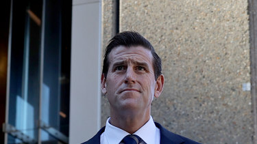 Ben Roberts-Smith is giving evidence in his defamation trial against The Age and the Sydney Morning Herald.