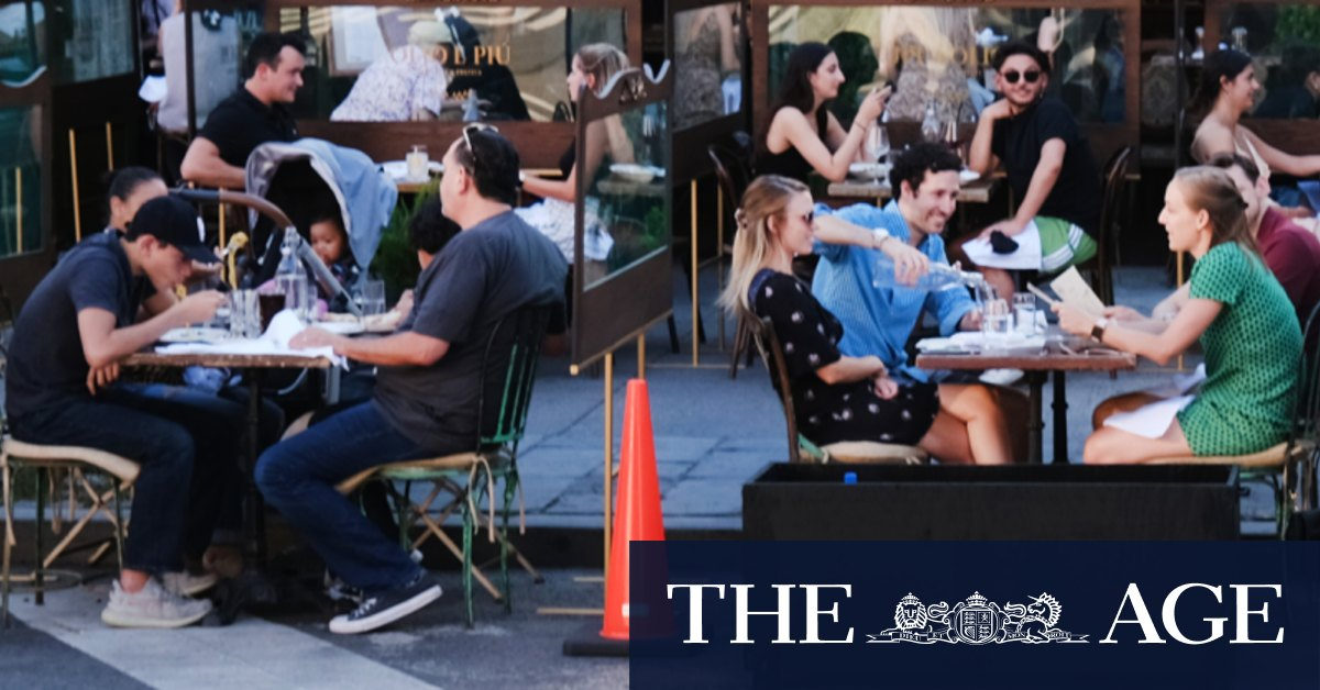 Dining on the streets: $100m fund to help Melbourne recover from COVID – The Age