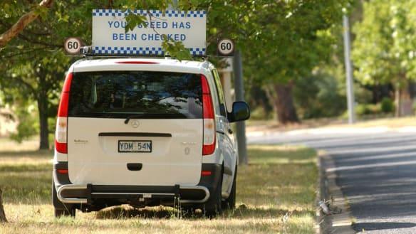 Tuggeranong Parkway is Canberra's speeding danger zone