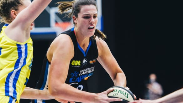 Car accident sharpens Lauren Scherf's Canberra Capitals focus for WNBL
