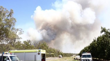 A hundred rural NSW firefighters are on their way to help fight the central Queensland bushfires.