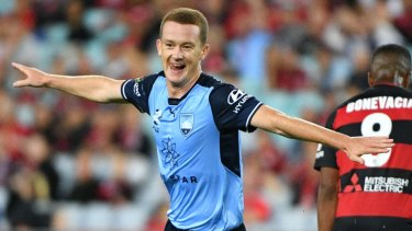 Wanted man: Brandon O'Neill has been called up for the Socceroos.