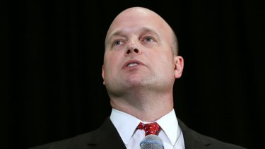 Acting Attorney-General Matt Whitaker.