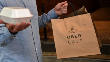 """Uber Eats has agreed to change its """"unfair"""" contracts with restaurants."""