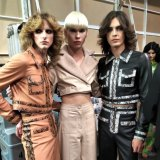 Charlie's Angels: Male models Blake Sutherland, Harry Barclay and Lochie Colin.