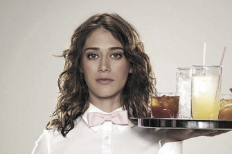 Lizzy Caplan in Party Down.